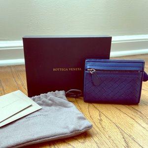 Bottega Veneta Quilted Leather Mini Wallet